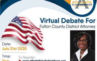 Fulton County DA Virtual Debate
