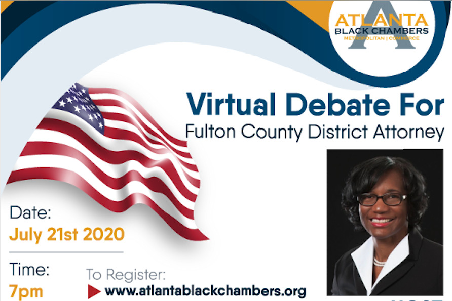 Fulton County DA Virtual Debate